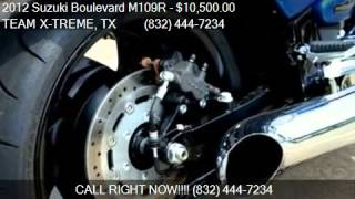 2. 2012 Suzuki Boulevard M109R LIMITED EDITION for sale in Hous