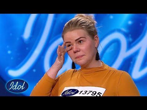 Tobarnsmoren Therese synger In My Daughter's Eyes | Idol Norge 2018