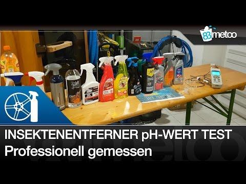 Insektenentferner pH Wert Test | Welcher Insektenentferner ist pH neutral, alkalisch oder sauer