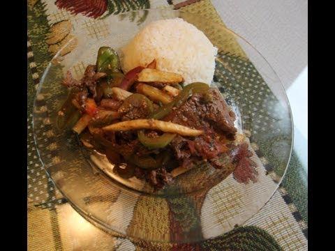 How to Make a South American Beef Stir Fry – Lomo Saltado from Peru