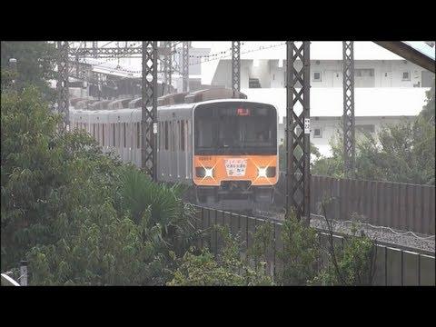 2013.9.15~9.16 東急田園都市線 高速通過シーン集 PART1