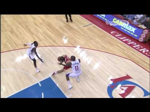 Omri Casspi - And1 Driving Floater vs Clippers