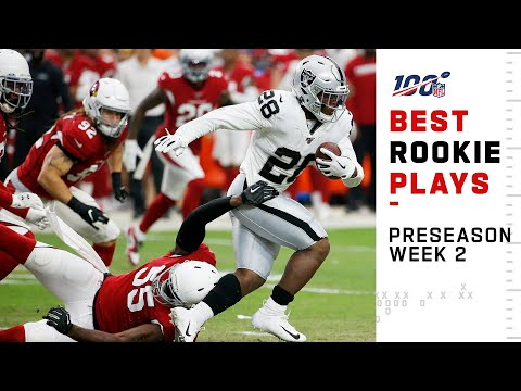 Best Rookie Plays So Far in Preseason Week 2 | NFL 2019 Highlights