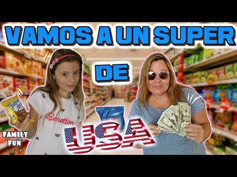 Vamos de compras a un SUPERMERCADO de MIAMI