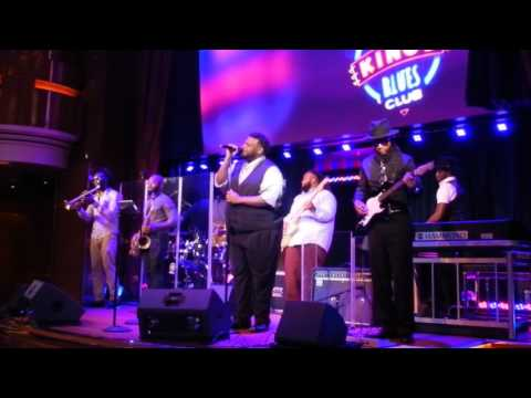 Hard to Handle - Jason Waters - B.B. King All Star Band - MS Koningsdam January 2017
