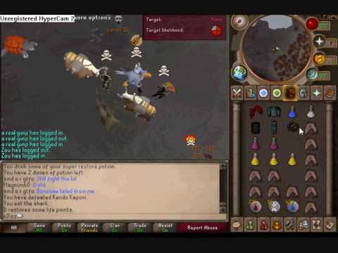 xjizz _ dropp   - running into a lure in pvp, killing jad again, some monster drops.