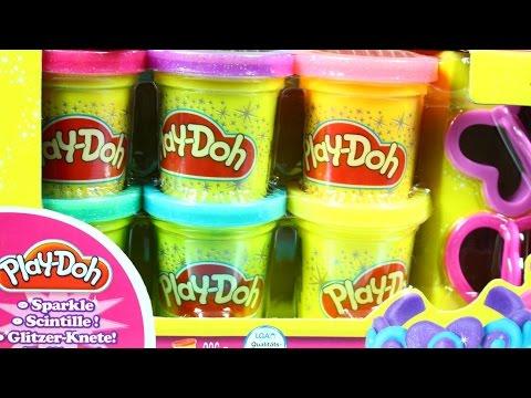 Набор пластилина Play-Doh из 6 баночек (Блестящая коллекция)