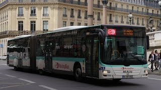 Video Paris Roissy Bus Man Lion City Opéra - Charles De Gaulle Airport MP3, 3GP, MP4, WEBM, AVI, FLV Agustus 2017