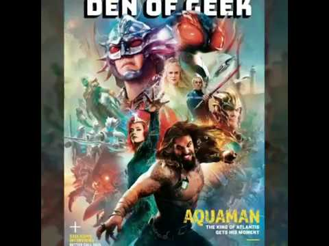 New Aquaman Magazine Cover Reveals All the Characters