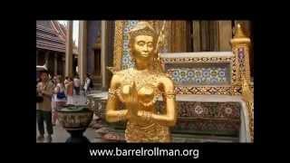 Barrelrollman - Flower Market, Grand Palace&Emerald Buddha - Bangkok, Thailand 4/2013