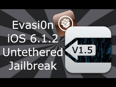 DinoZambas2 - PLEASE READ ▽ Downloads: Now Supports iOS 6.1.2 Evasi0n V1.5.3 Windows & Mac: http://evasi0n.com/ So now you are Jailbroken what next? Check the bellow video...