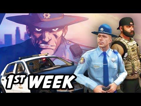 Trooper Eli Thompson's First Week on Twitch  SOE GTA Roleplay