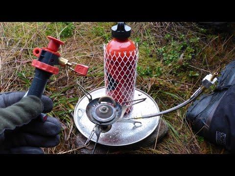 Multifuel Campingkocher vorheizen, ein paar Tips ...
