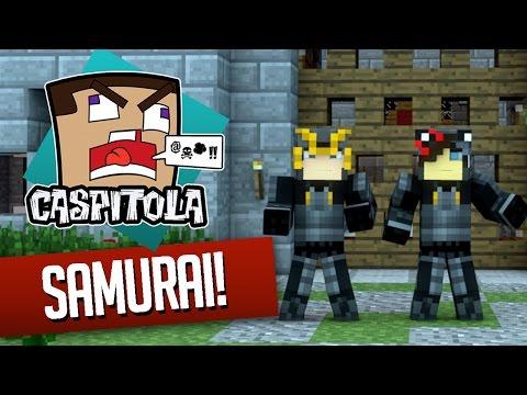 Minecraft: Caspitola #49 – Somos SAMURAIS!
