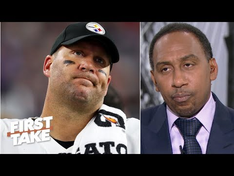 Video: Stephen A. reacts to Ben Roethlisberger injury news: It's over for the Steelers | First Take