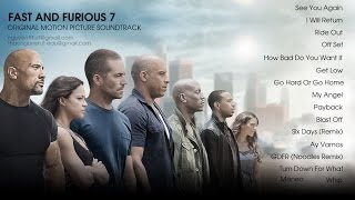 Fast & Furious 7 Soundtrack Full Album 2015 [16 tracks] | The Best Song Of Furious 7 - YouTube