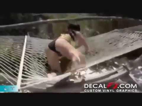 Sexowne wpadki pięknych kobiet - Kompilacja wideo