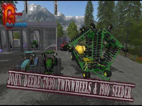 John Deere 7930 TwinWheels & 1910 Seeder v1.0