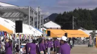 羽黒小学校運動会9午後4・大玉送り閉会式