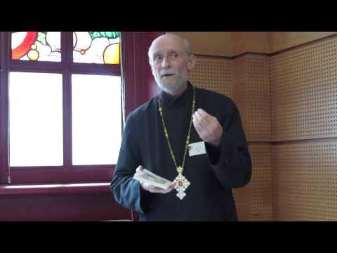 2014 04 26 Père Marc-Antoine et Mère Silouana (Vlad) au Salon du livre orthodoxe à Paris