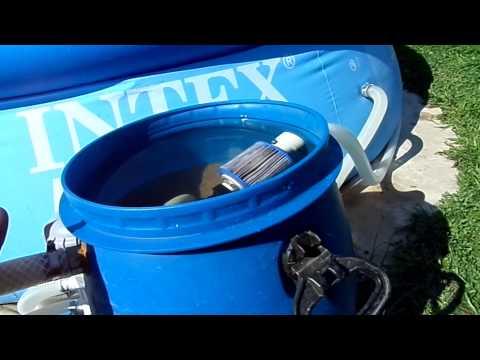 Фильтры для воды бассейна своими руками