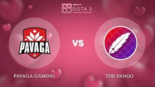 Pavaga Gaming vs The Pango - RU @Map1 | Dota 2 Valentine Madness | WePlay!