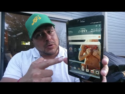 New 4G LTE Tablet - LG GPad X8.3 Full Review