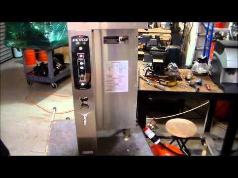 How to Program a FETCO Digital Brewer