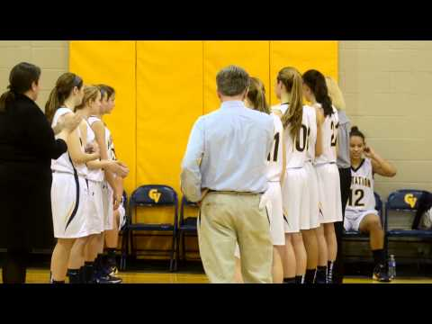 Girls Basketball Bullis vs. Georgetown Visitation 2/11/2013