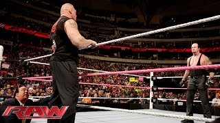 Nonton Brock Lesnar confronts The Undertaker before Hell in a Cell: Raw, October 19, 2015 Film Subtitle Indonesia Streaming Movie Download