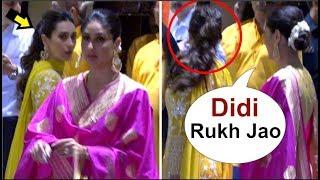 Video Karisma Kapoor UPSET After Kareena Kapoor Gets More ATTENTION From Media @ Mukesh Ambani Ganpati MP3, 3GP, MP4, WEBM, AVI, FLV September 2018