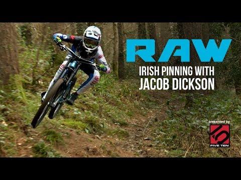 Irish DH Pinner -  Vital RAW - Jacob Dickson of Giant Factory Off-Road (видео)