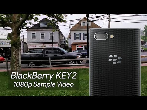 BlackBerry KEY2 1080p Sample Video