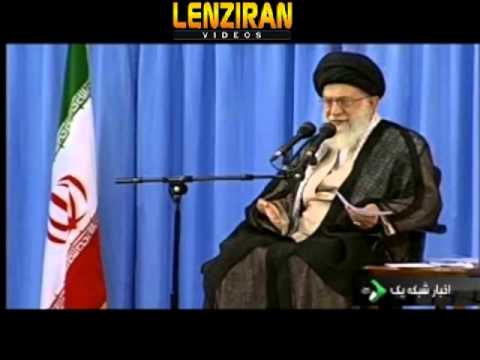 Ayatollah Khamenei : Why Mousavi and Karoubi do not apologize ! (видео)