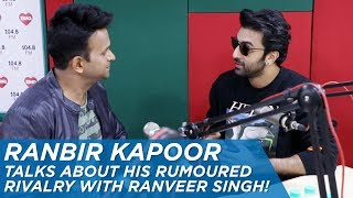 Video Ranbir Kapoor talks about his rumoured rivalry with Ranveer Singh! MP3, 3GP, MP4, WEBM, AVI, FLV Juli 2018