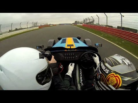 Caterham 620R lap of Silverstone with Kamui Kobayashi