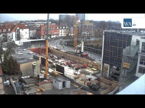 Hamm: Zeitraffer-Video - So wuchs das neue Medienhaus ...