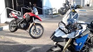 5. Brxan 2012 BMW f800 GS test rides.