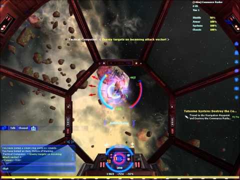 Star Wars Galaxies Space Combat Gameplay