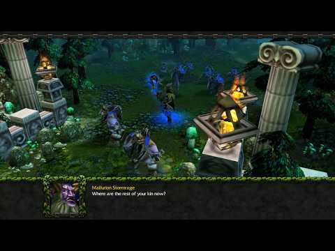 Warcraft 3: Malfurion's Quest 02 - Trail Of The Betrayal