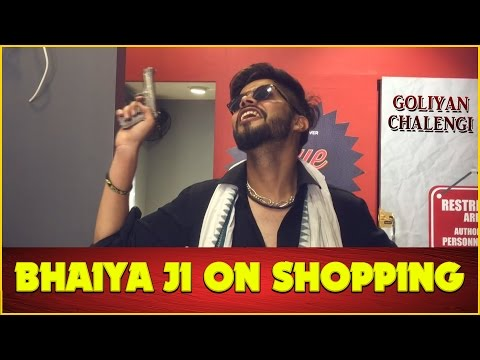 Bhaiya Ji On Shopping - Part-3 | DjNaddy | Indian Viners |