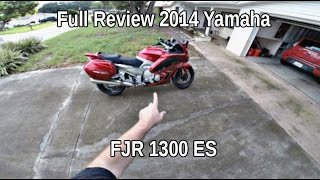 4. 2014 Yamaha FJR 1300 ES Full Review