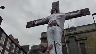Stourport United Kingdom  city photos : Passion Play 2013 BEWDLEY Town Centre England UK Nr Kidderminster & Stourport