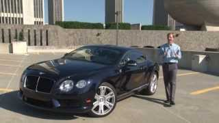 2013 Bentley Continental GT V8 - Drive Time Review With Steve Hammes