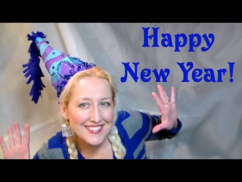 Happy New Year Party Hat How To
