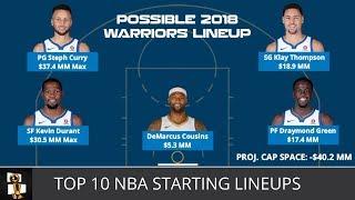 Video Top 10 NBA Starting Lineups For The 2018-19 Season From NBA Weekly with Harris Rubenstein MP3, 3GP, MP4, WEBM, AVI, FLV Agustus 2018