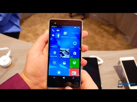 VAIO Phone Biz Hands On