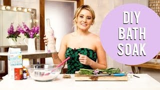 Make DIY Bath Salt For a Mother's Day Gift! - YouTube