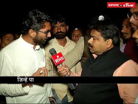 Dalit youth leader Jignesh Mevani attacks on BJP over Gujarat Assembly Elections