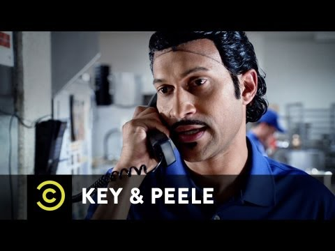 order - A simple call for a pizza delivery snowballs into much, much more. NEW Key & Peele airs Wednesdays 10:30/9:30c on Comedy Central.